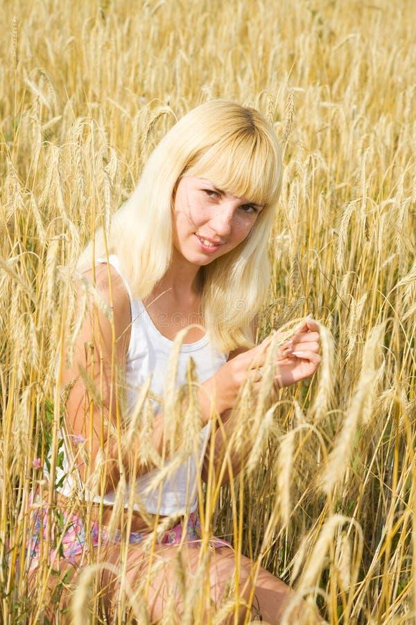 blondie女孩 库存图片