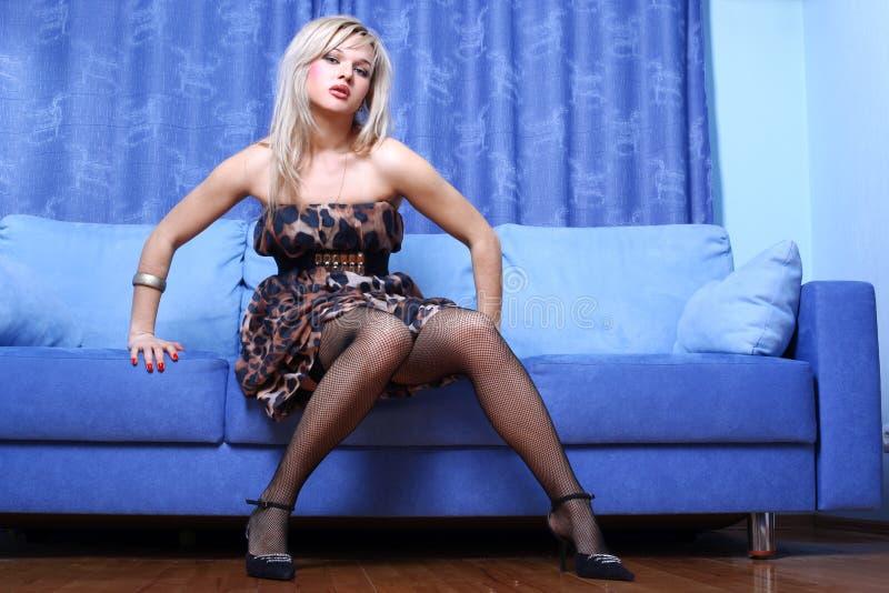 blondie年轻人 免版税库存照片