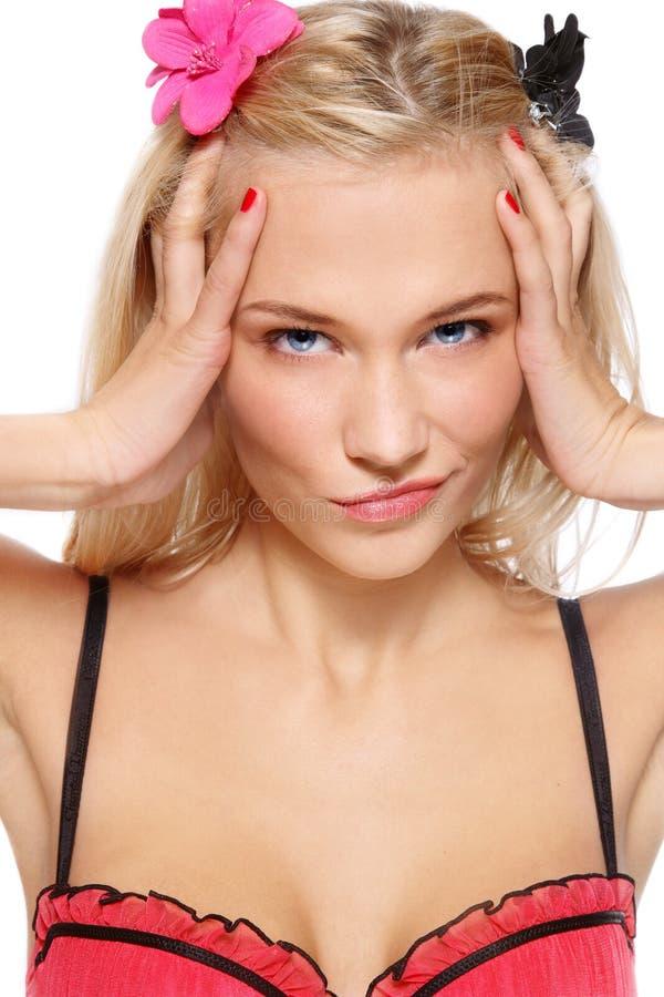 Blondie imagen de archivo libre de regalías