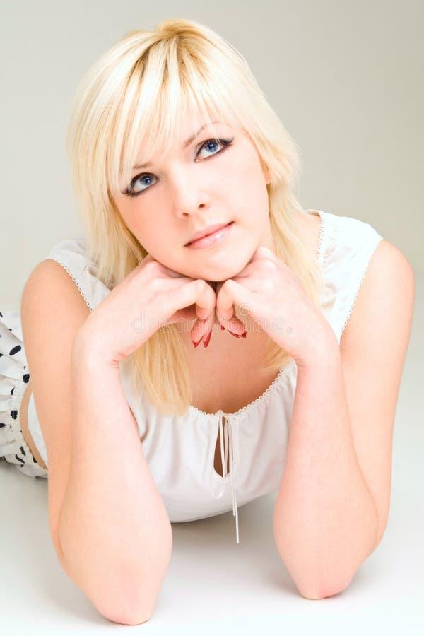 Blondie fotos de archivo libres de regalías