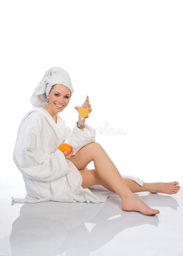 Blondie Badekurort stockbilder