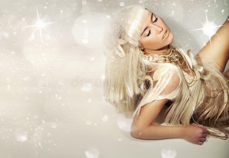 Blondie bonito fotos de stock royalty free