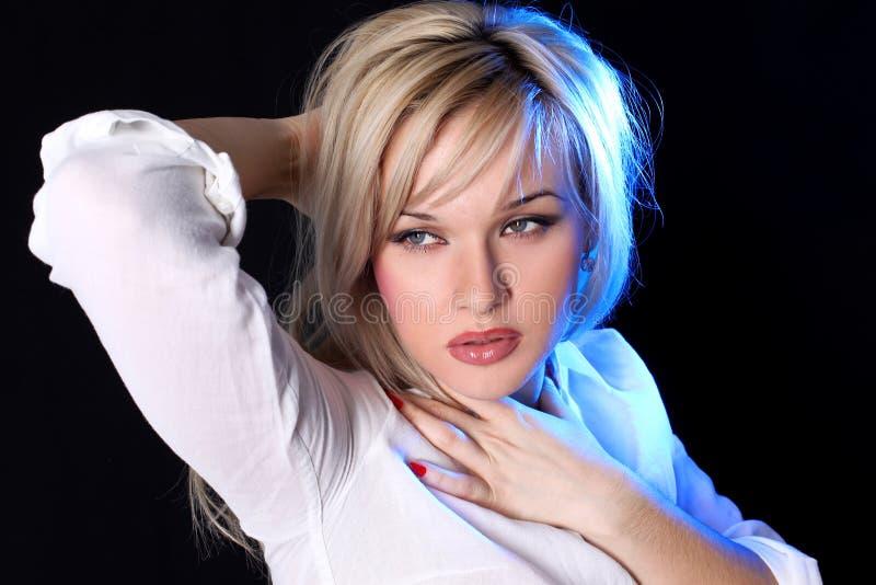 blondie girl στοκ εικόνες με δικαίωμα ελεύθερης χρήσης