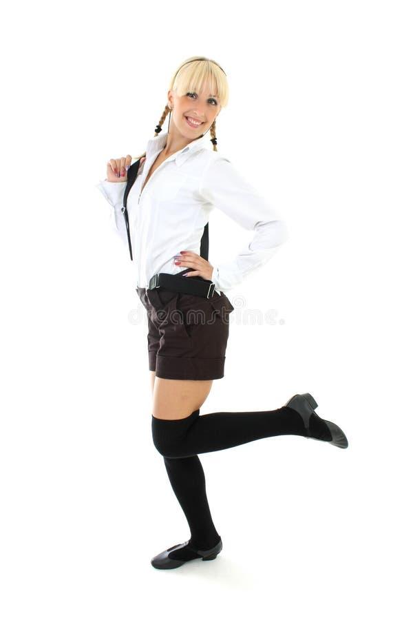 Download Blondie Girl In School Form Stock Photo - Image of student, teenage: 15455864