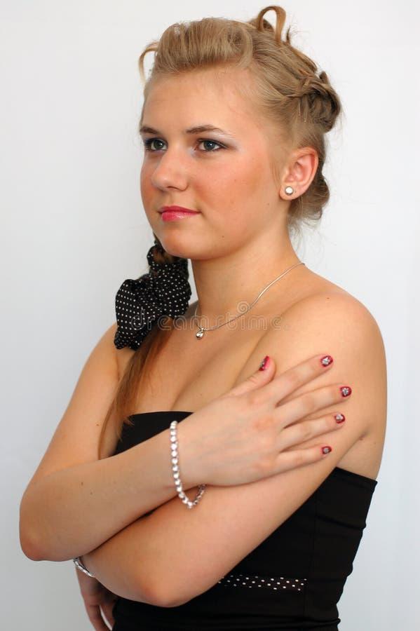 Blondie joven imagen de archivo