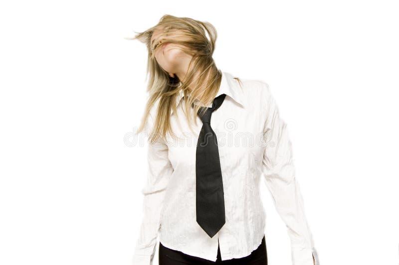 blondieaffär arkivfoton