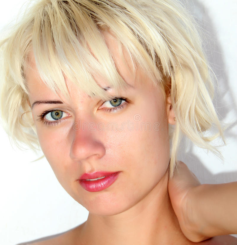 Blondin royaltyfria foton