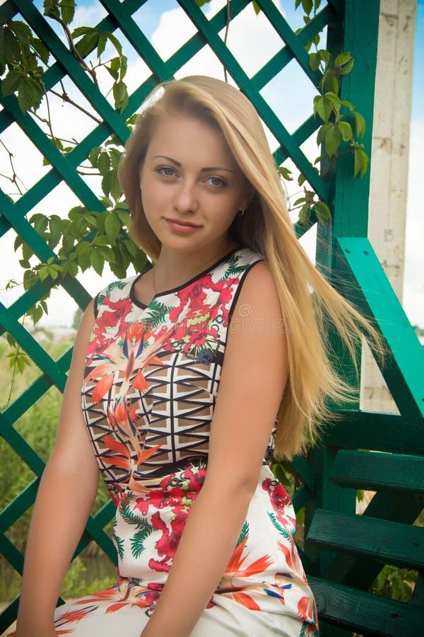 Blondin arkivfoton