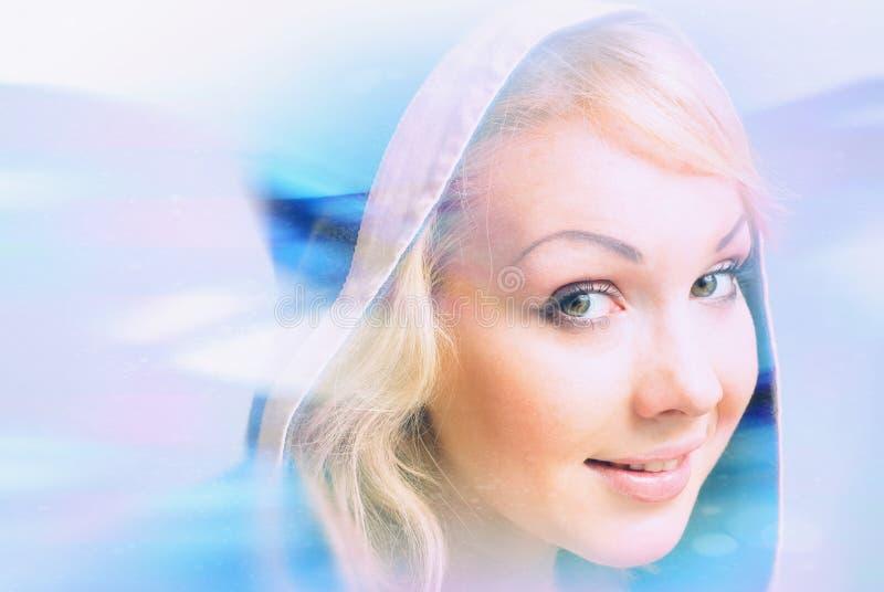 Blondy bonito imagem de stock royalty free