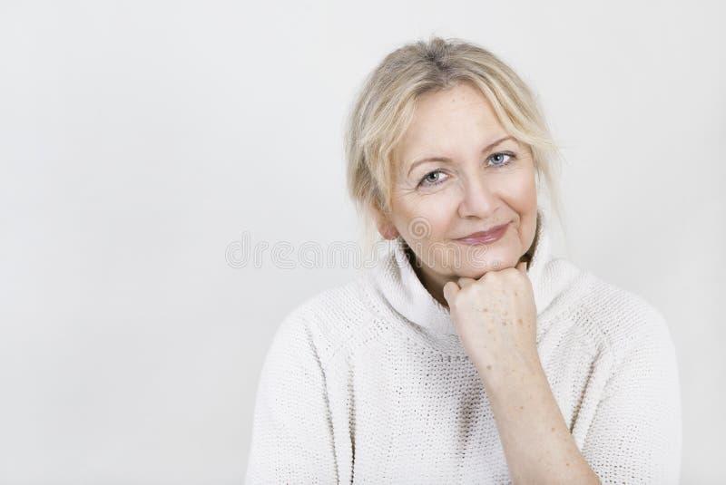 blondynka portret kobiety zdjęcie royalty free