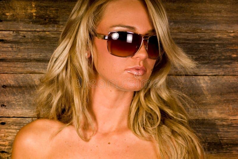 blondynka seksowna zdjęcie stock