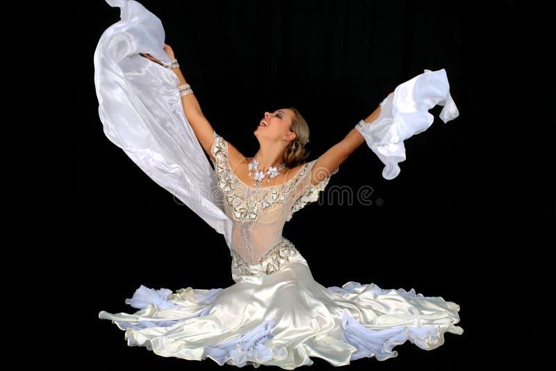 blondynka taniec zdjęcia royalty free