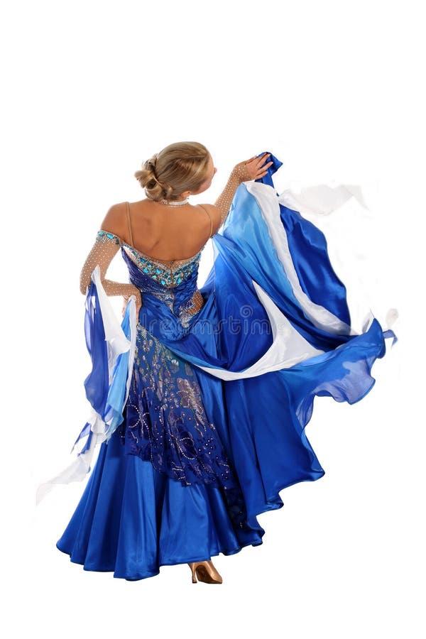 blondynka taniec zdjęcie stock