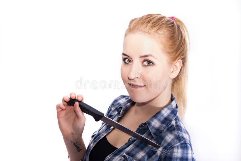 Blondynki Dziewczyna obraz stock