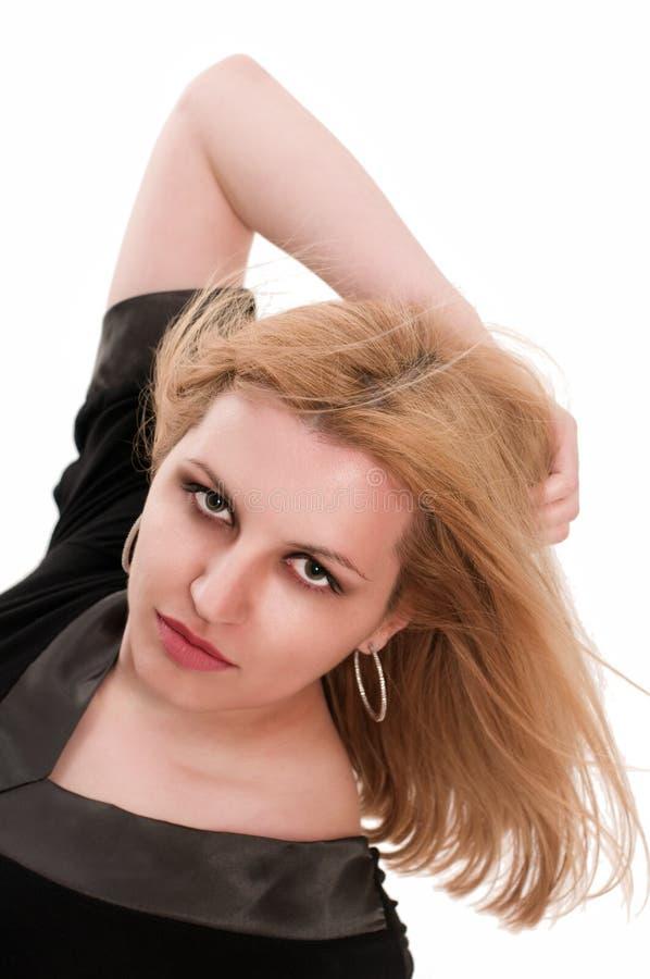 blondynki dziewczyny ładny portret zdjęcie stock