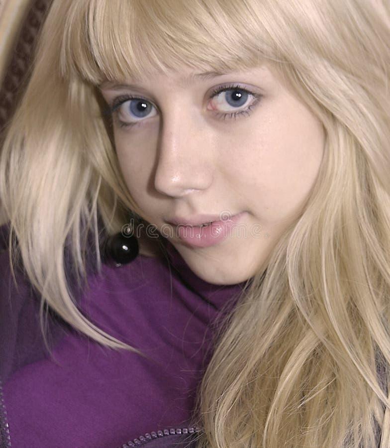 blondynki dziewczyny potomstwa fotografia royalty free