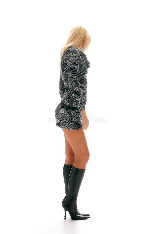 Blondynki dziewczyny target560_0_ zdjęcia stock