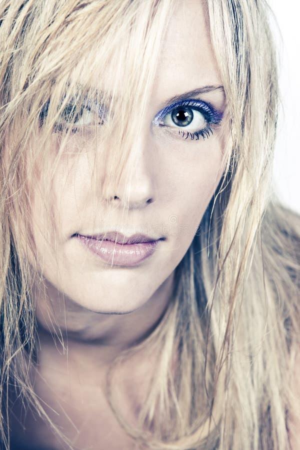 blondynki dziewczyny z włosami zdjęcia stock