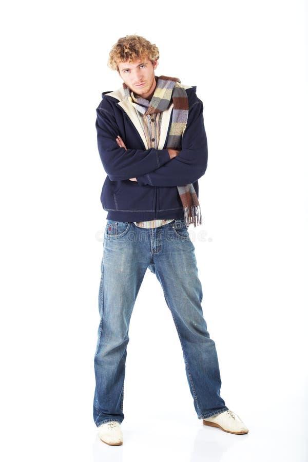 Download Blondynki Mężczyzna Potomstwa Obraz Stock - Obraz złożonej z blondyny, hairball: 13329479