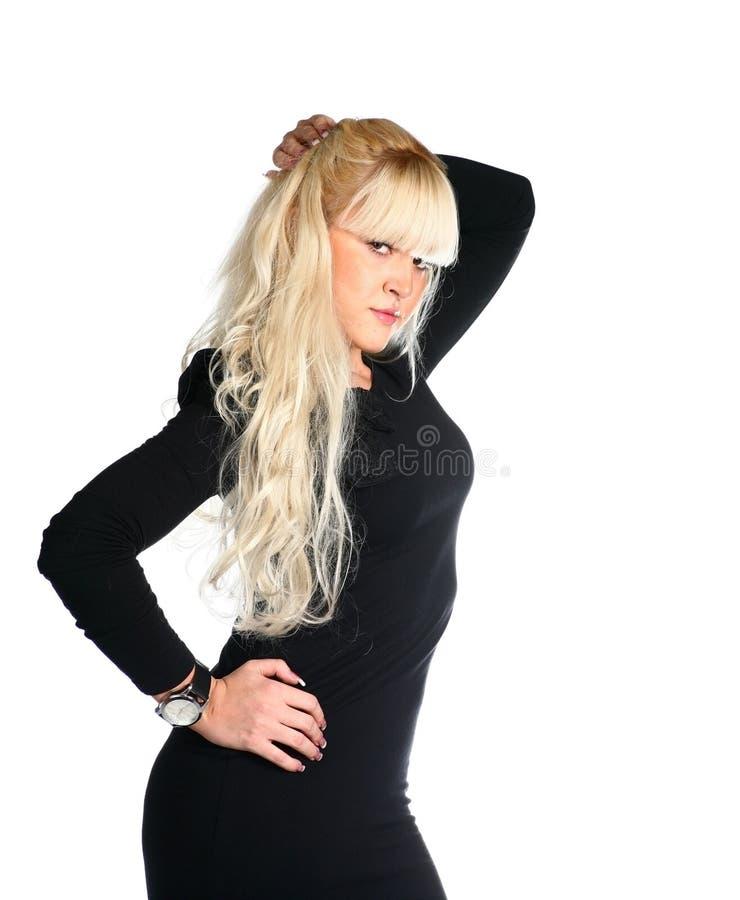 blondynki piękna kobieta obrazy stock