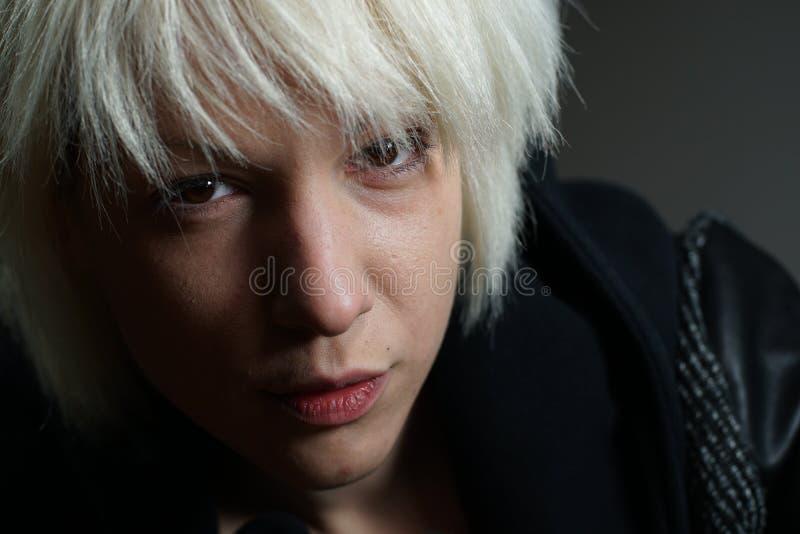 blondynki portret dziewczyny fotografia stock