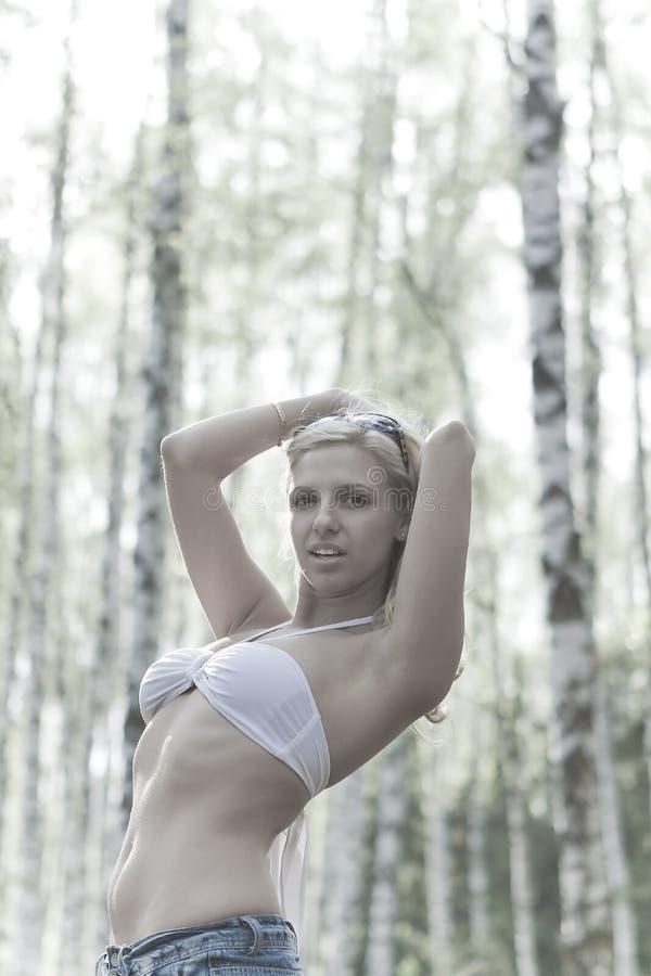 blondynki target1209_0_ zdjęcie royalty free