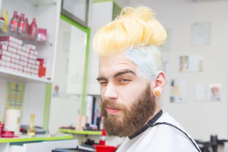 Blondynu barwidło fotografia royalty free