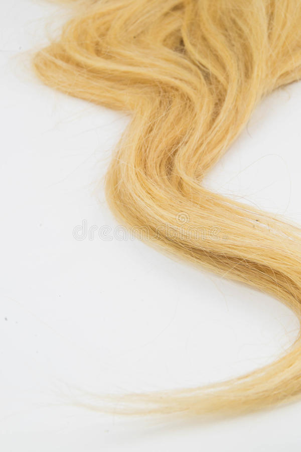 Blondynu kawałek obraz royalty free