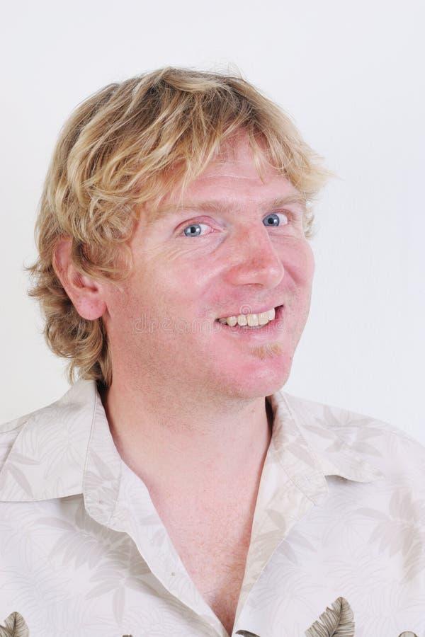 blondynu mężczyzna zdjęcia royalty free