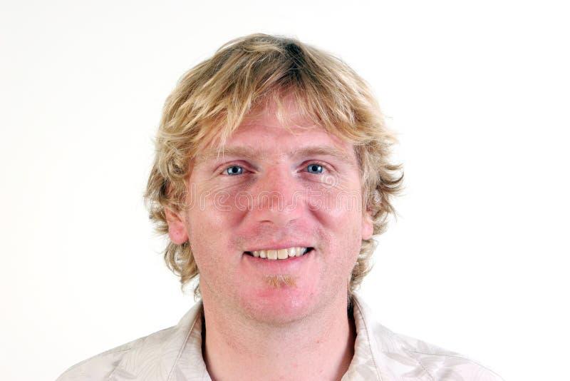 blondynu mężczyzna obraz stock