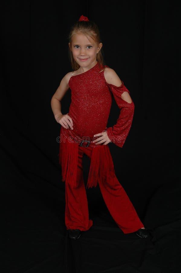 blont barn för höftflygturmodell royaltyfria bilder