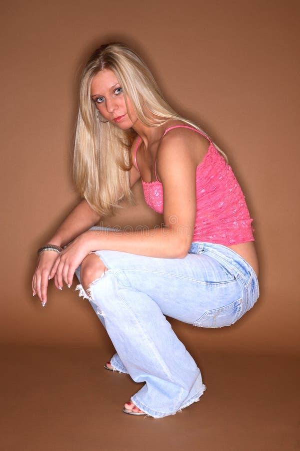 blont mode fotografering för bildbyråer