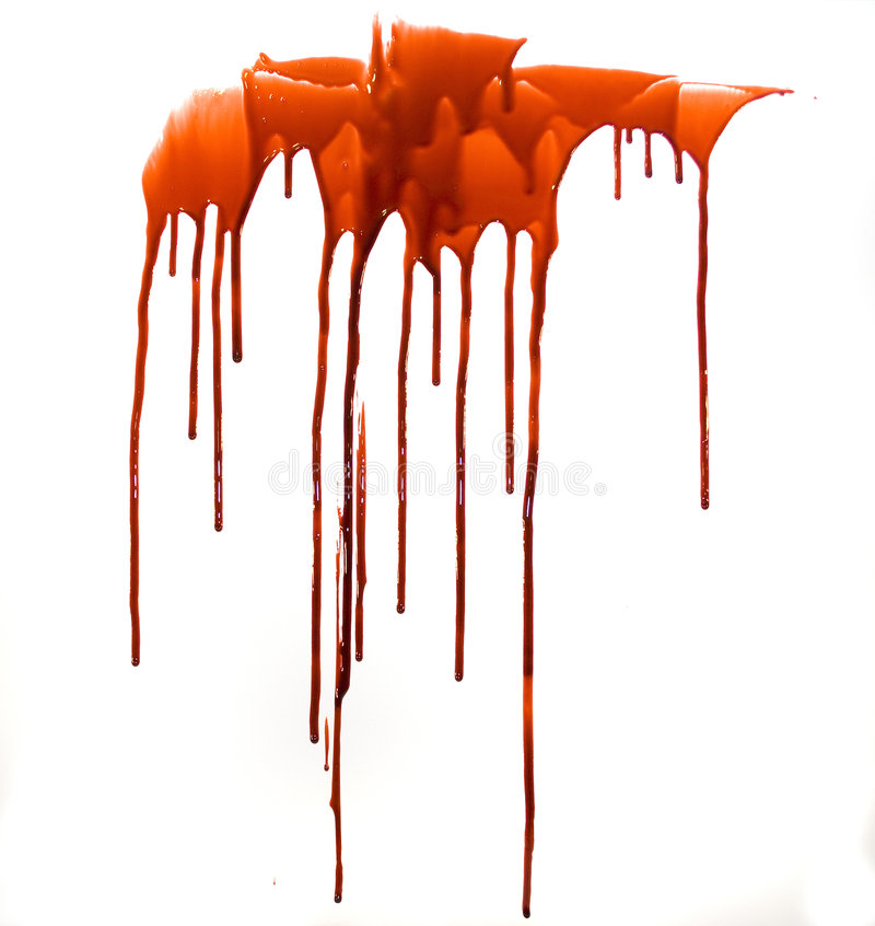 Blood. Drips of gorey blood for your renders