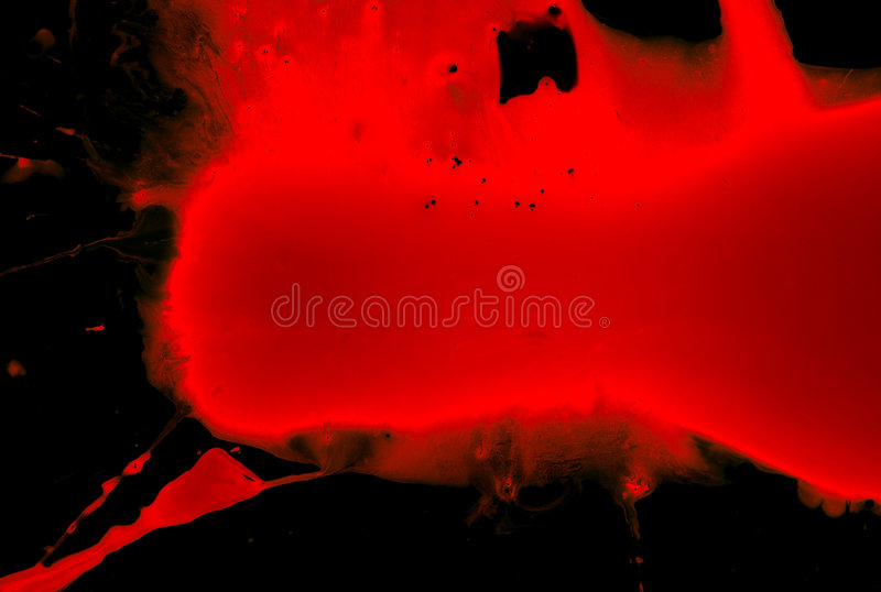 Blood on black royalty free stock photography