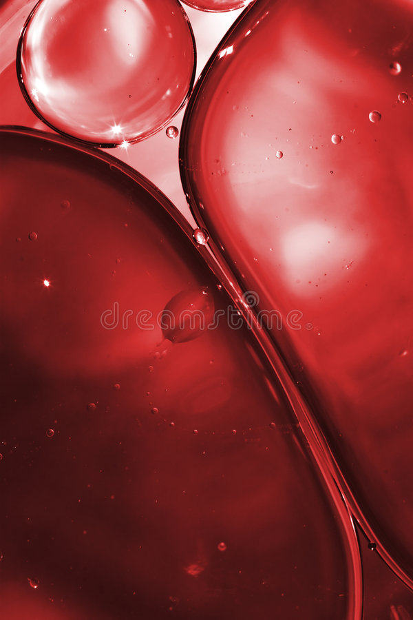 Blood And Bubbles Royalty Free Stock Photos