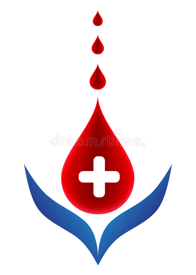 Blood donation. Donate blood save other people life vector illustration