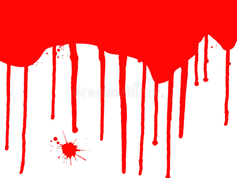 Download Blood Drips stock vector. Image of splashes, silhouettes - 2997449