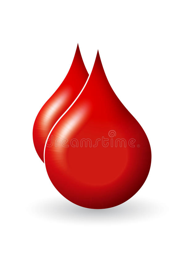 Download Blood drop stock illustration. Image of bank, anemia - 27336318
