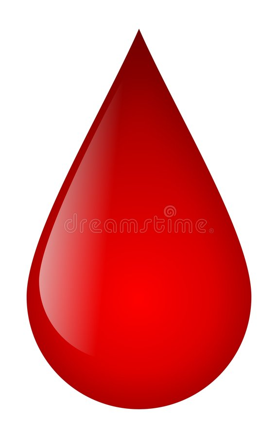 Blood Drop stock images