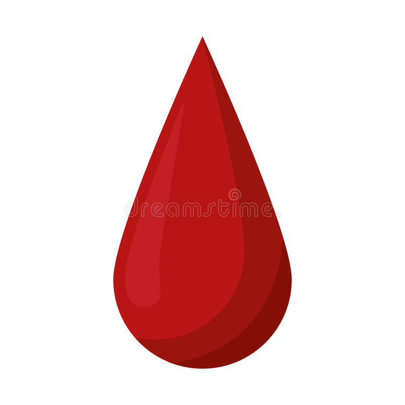 Blood drop donate donor. Vector illustration eps 10 royalty free illustration