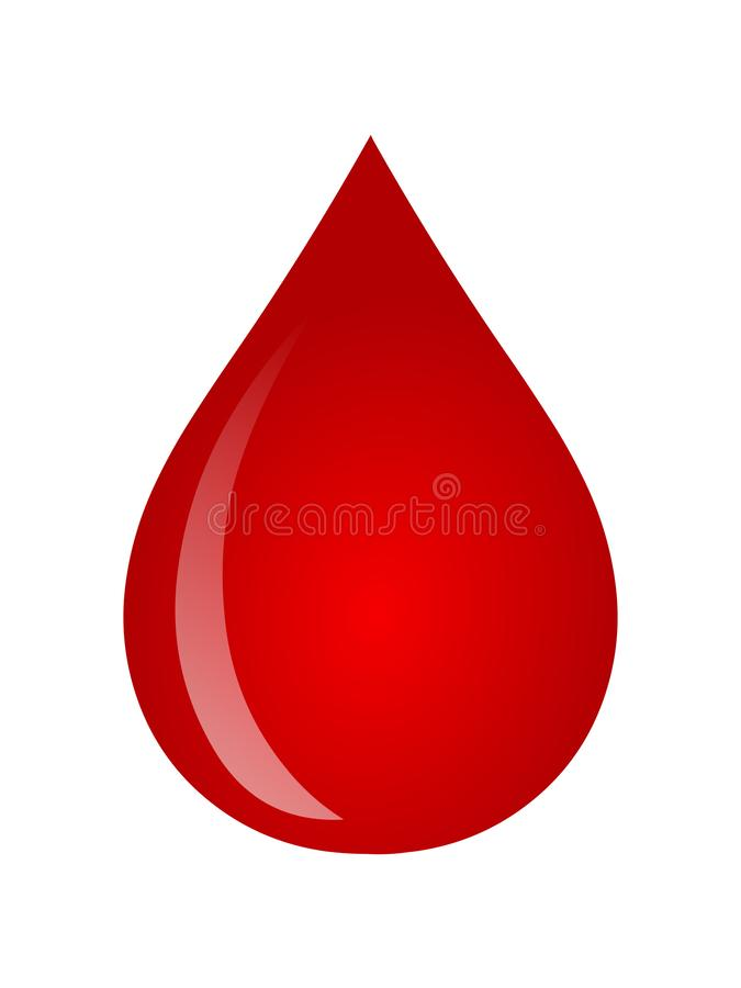 Blood drop vector illustration.Drop icon logo vector vector illustration