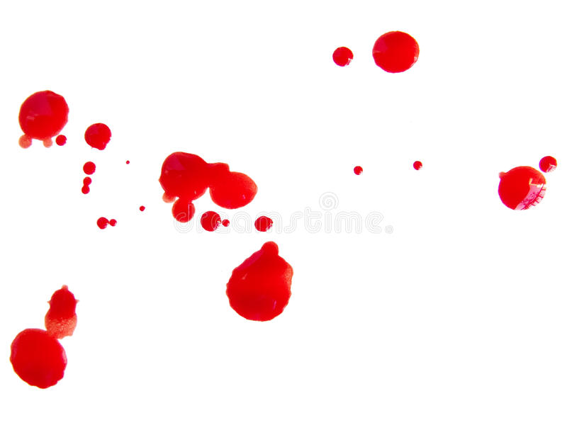 Download Blood drops stock photo. Image of scary, droplet, killer - 13411260