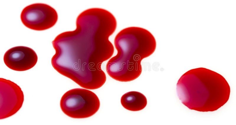 Blood Drops Stock Photos