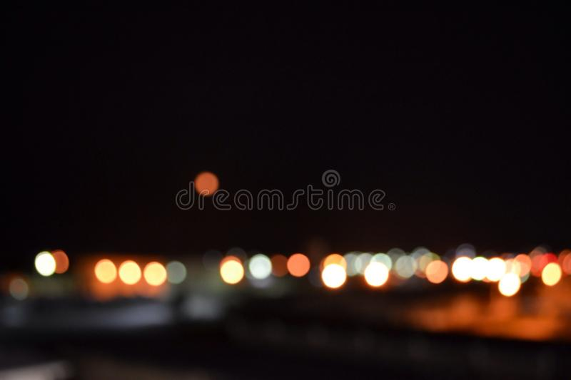 Blood moon blur royalty free stock images