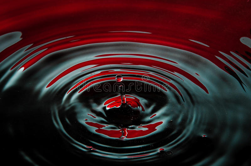 Download Blood and oil drop stock photo. Image of bright, decoration - 24318994