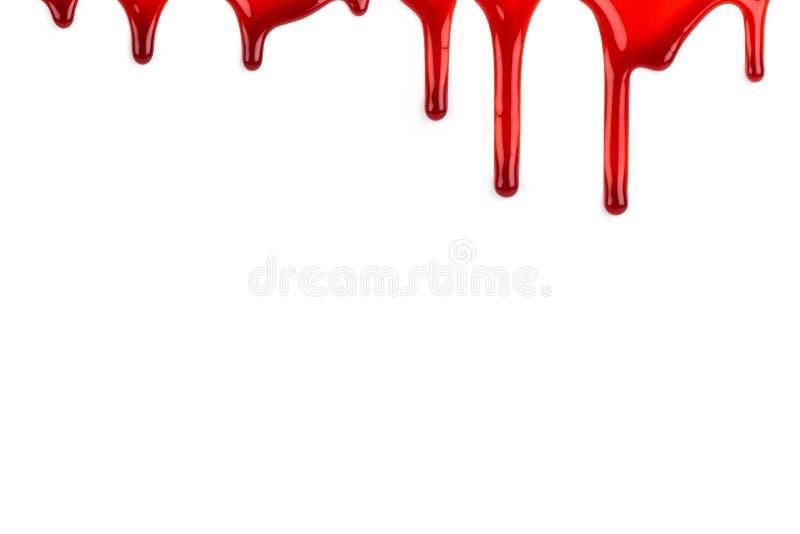 Blood ooze stock image
