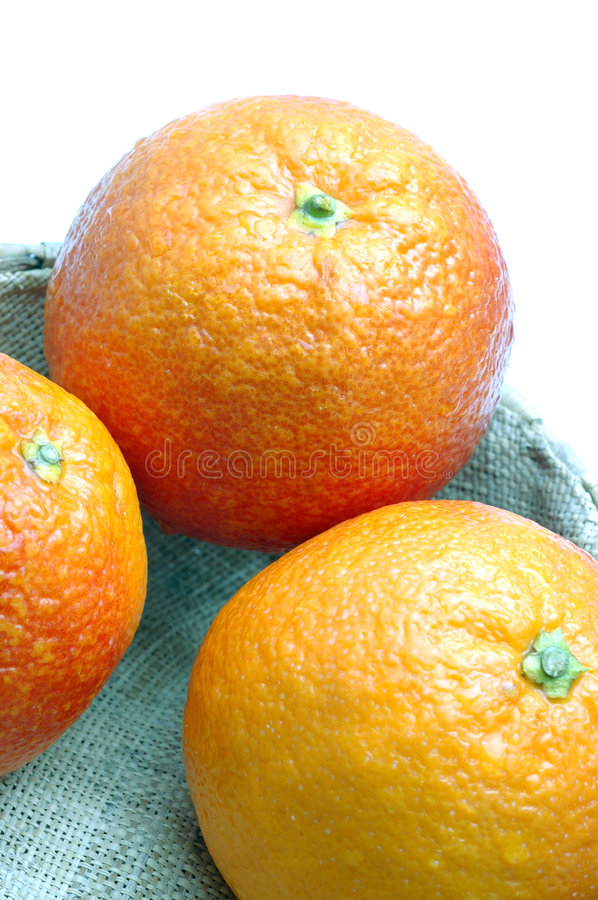 Download Blood Oranges In Basket Royalty Free Stock Image - Image: 506776