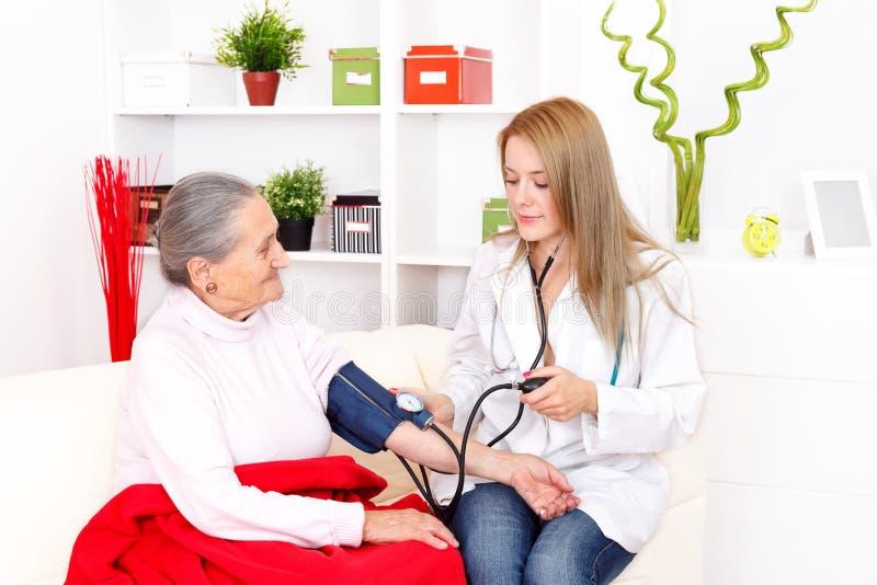 Download Blood pressure stock image. Image of sitting, caucasian - 27592859
