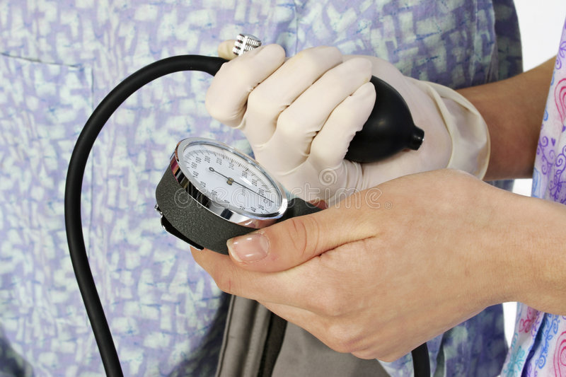 Download Blood Pressure stock image. Image of hands, medical, woman - 800725