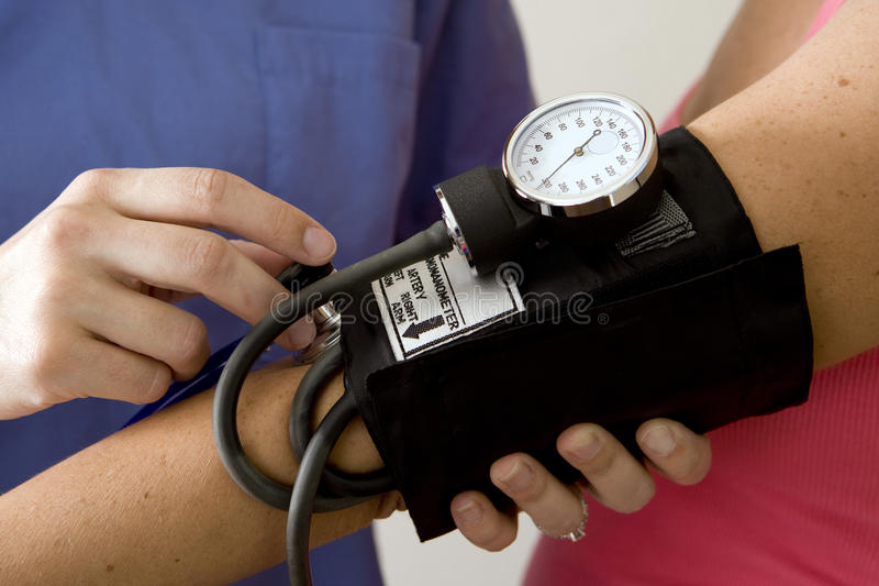 Blood Pressure Royalty Free Stock Photos